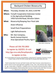 Poultry Meeting 10-29-15