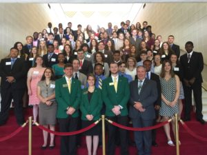 Cover photo for Forsyth County 4-H'ers Visit the NC Legislative Building.