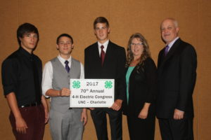 Cover photo for Forsyth County 4-H Delegation Attends Annual Electric Congress
