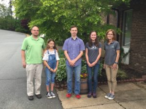 Photo of Forsyth County 4-H'ers