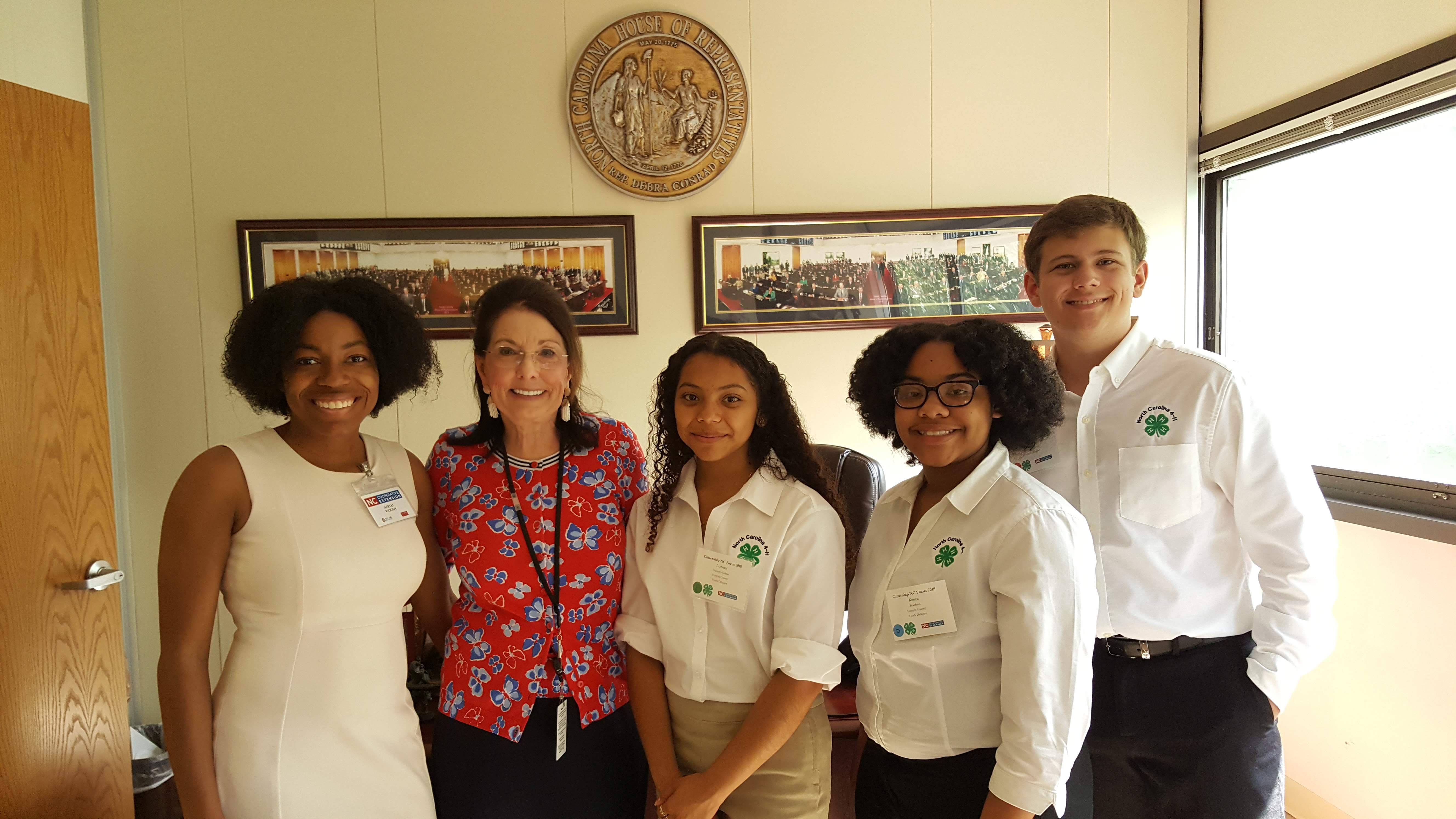 Photo of Forsyth County 4-H Members
