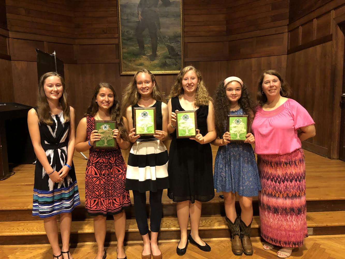 Picture of Forsyth County 4-H winners