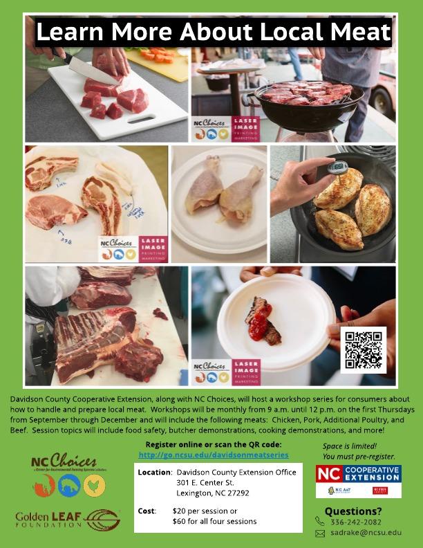 Meat Workshop flyer