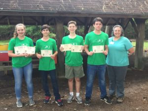 4-H Forestry Team picture