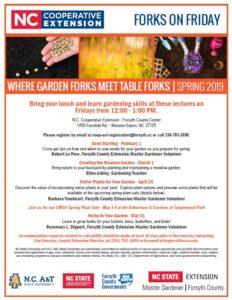 Spring 2019 Forks on Friday flyer