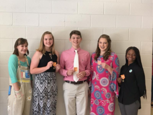 Image of District Activity Day Winners for Forsyth County
