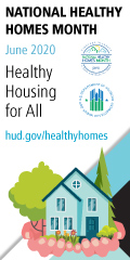 Cover photo for National Healthy Homes Month 2020