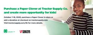 4-H Paper Clover