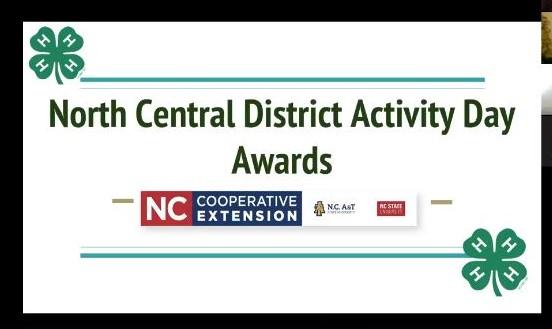Activity Day Awards header