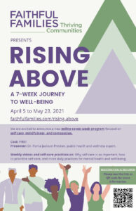 Cover photo for Rising Above: A 7-Week Journey to Well-Being