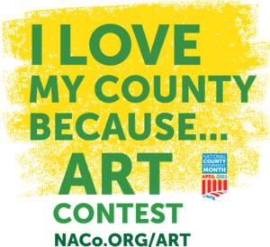 I Love My County art