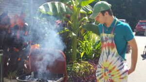 Cover photo for Forsyth County 4-H'er Wins District Outdoor Cookery Contest
