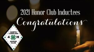 Cover photo for Four Forsyth County 4-H'ers Tapped Into the NC 4-H Honor Club