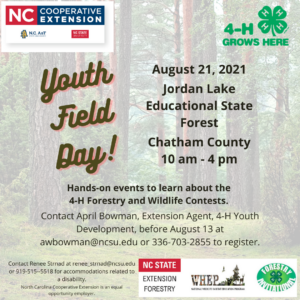 Cover photo for Forestry and Wildlife Field Day