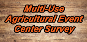 multi-use agricultural event center